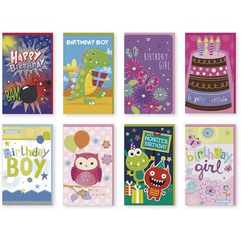 Wholesale birthday cards bulk birthday cards discount birthday handmade kids themed birthday single greeting cards colourmoves Images