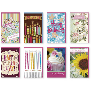 Wholesale greeting cards bulk greeting cards cheap cards handmade female themed birthday single greeting cards m4hsunfo