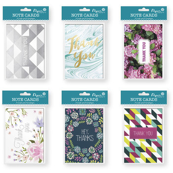Wholesale greeting cards bulk greeting cards cheap cards 8 count embellished thank you cards m4hsunfo Gallery