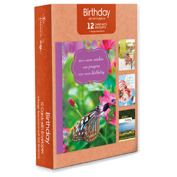 Wholesale religious cards wholesale christian cards dollardays 12pk boxed card wscripture moments to treasure birthday bookmarktalkfo Image collections