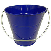"Metal Bucket - Royal Blue (5"" H x 6"")"