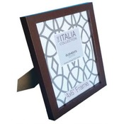 "Italia 5"" x 7"" Expresso Color MDF Picture Frame Molding 0.6"""