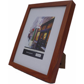 Picture Frame - Brown Wood (8 x 10 In.)