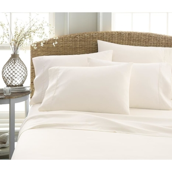 Soft Essentials Luxury Ultra Soft 4 Piece Bed Sheet Set(Twin   Ivory)