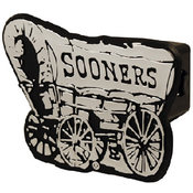 University Of Oklahoma Trailer Hitch Cover 6 Displ