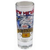New Mexico Shooter Shotglass- State Map