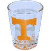 University Of Tennessee Shotglass Bulllseye Bottom