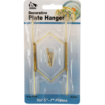 Small Brass-Plated Decorative Plate Hanger  sc 1 st  DollarDays & Wholesale Plate Stands Discount Plate Stands - DollarDays