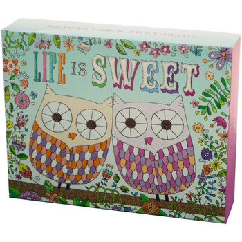 Wholesale greeting cards bulk greeting cards cheap cards life is sweet notecards amp envelopes set m4hsunfo Gallery