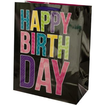 Wholesale Black Birthday Gift Bag SKU 2317307 DollarDays