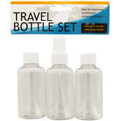 Travel Twist Top & Spray Bottle Set