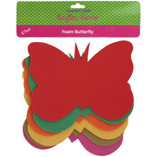 Foam Butterfly Craft Shapes