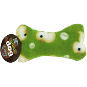 Plush Dog Bone with Rubber Duckie Print