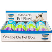 Collapsible Pet Bowl Countertop Display