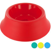 Large Size Round Plastic Pet Bowl