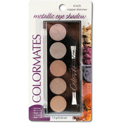 Colormates Copper Shimmer Metallic Eyeshadow Compact