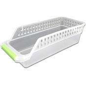 Slim Plastic Storage Basket