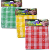 Wholesale Checkered Picnic Tablecloth