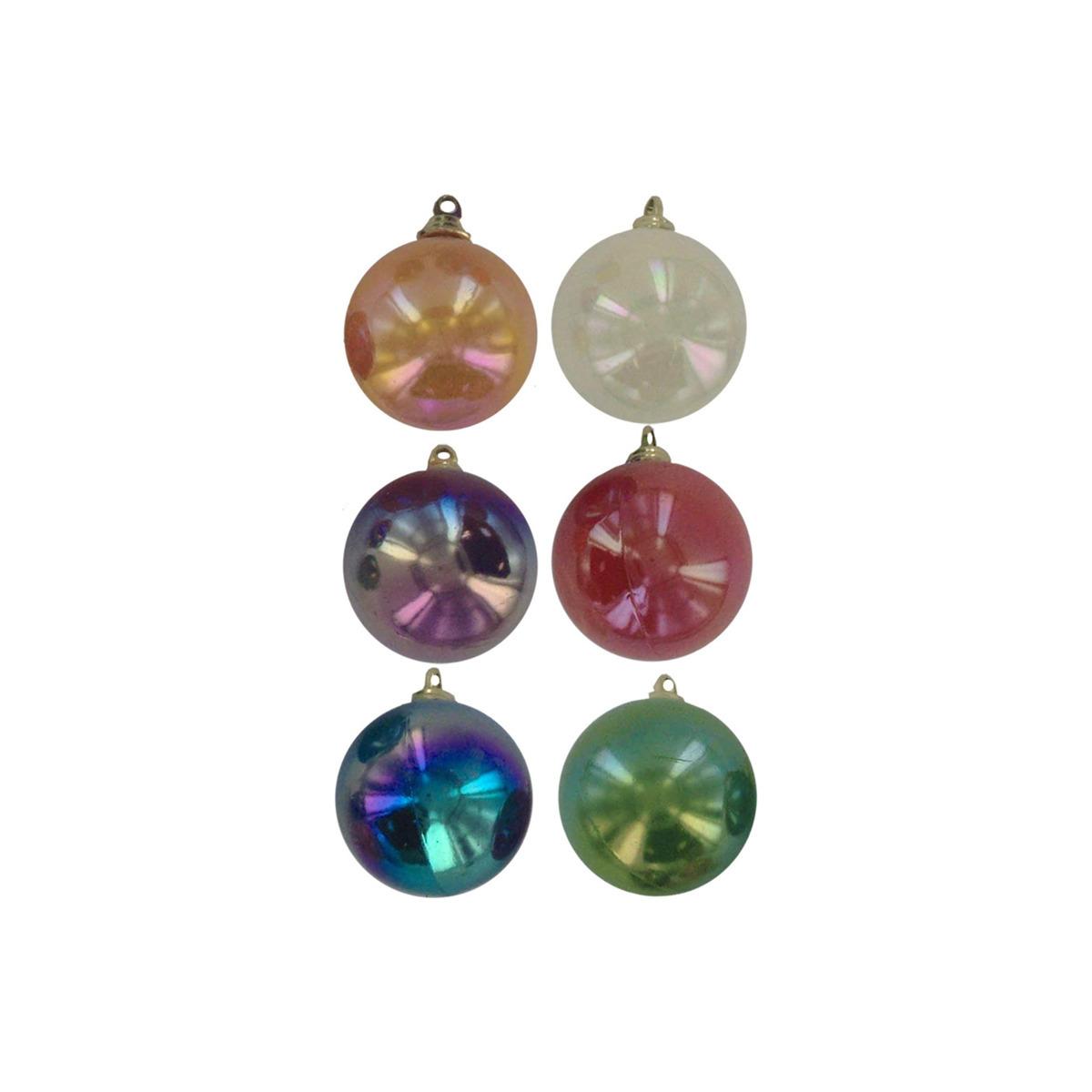 Bulk Christmas Ornaments Balls: Wholesale Christmas Ball Ornaments, Pack Of 6 (SKU 426157
