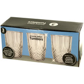Crystal Effect Tumblers Set