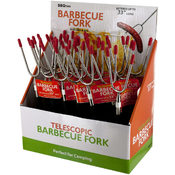 Telescopic Barbecue Fork Countertop Display