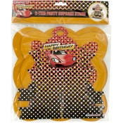 Sports Car 2-Tier Party Cupcake Stand
