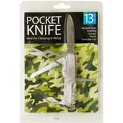 13 Function Pocket Tool Knife
