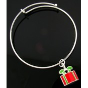 Holiday Gift Bangle Bracelet