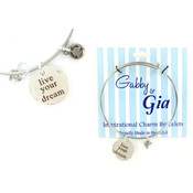 Gabby & Gia Bracelet - Live Your Dream