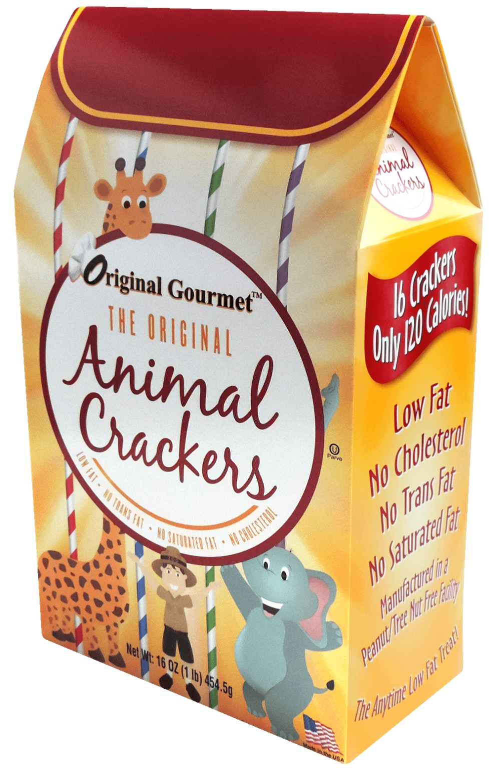 Wholesale Original Gourmet Animal Crackers 16oz Sku