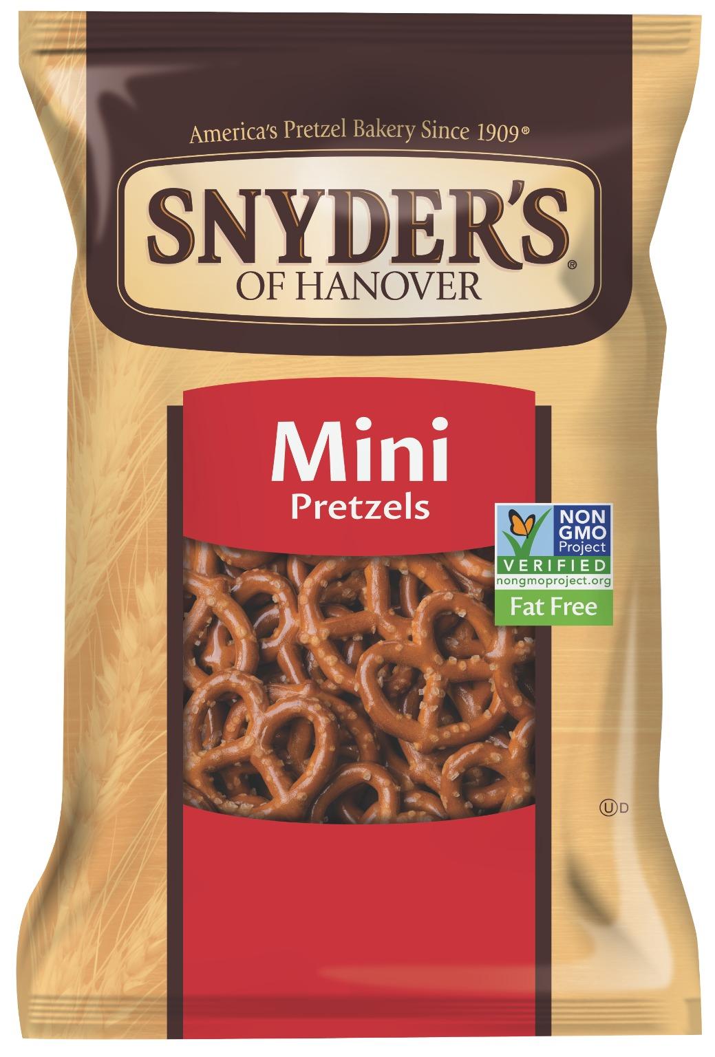 Wholesale Snyder S Mini Pretzel Peg 3 5oz Sku 2289645