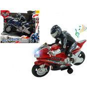 Friction Motorcycle W/Light & Music (Batt.Incl