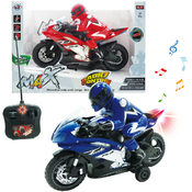 R/C Motorcycle with rider 11.5""