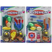 14 Piece Blister Kitchen Play Set (2 assorted)