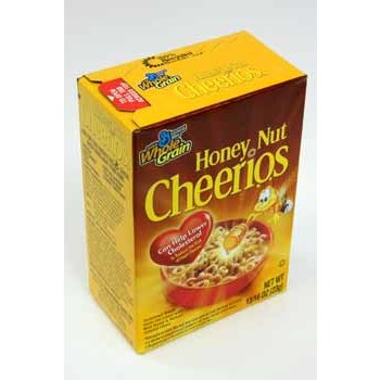 wholesale general mills honey nut cheerios cereal box sku 362161