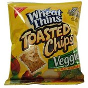 Nabisco Wheat Thins Toasted Veggie Chips