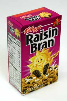 Wholesale Kelloggs Raisin Bran Cereal Box Sku 362353
