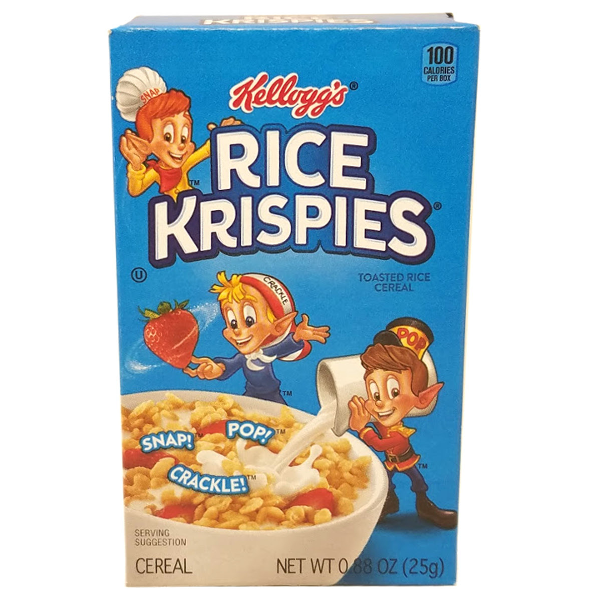 Wholesale Kelloggs Rice Krispies Cereal (box) (SKU 362355