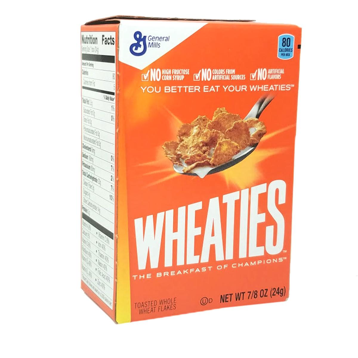 Wholesale General Mills Wheaties Cereal Box 7/8 Oz (SKU
