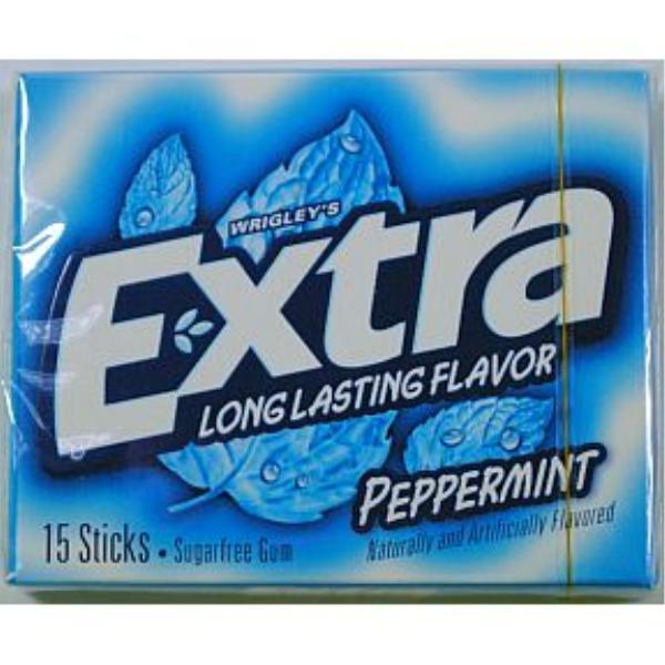 Wholesale Wrigleys Extra Gum Peppermint Sku 746145