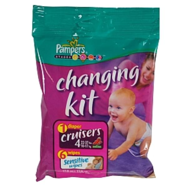 Wholesale Pampers Cruisers Changing Kit Size 4 Sku