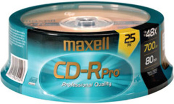 48X Pro-Quality Write-Once CD-R Spindle