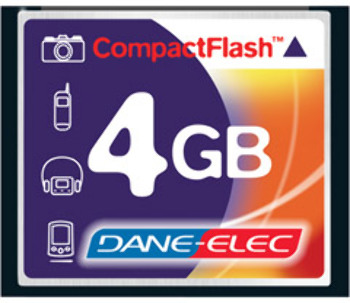 4Gb CmPCtflash™ memory Card