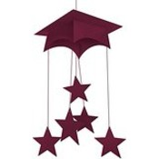 Graduation Mobile Hanging - Burgundy