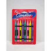 Crayon Design Candles- Assorted Colors