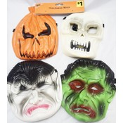 Assorted Rubber Masks
