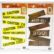 Halloween Door Clings