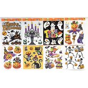 Halloween Window Clings: Assorted Styles