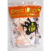 wholesale halloween decoration 100 square foot spider web