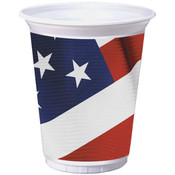 American Valor 16oz Plastic Cup
